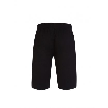 Black Logo Shorts