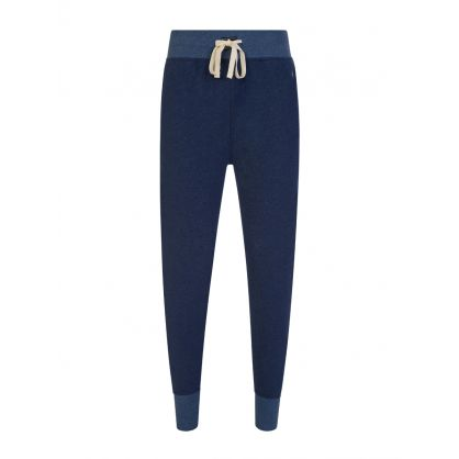 Blue Fleece Lounge Sweatpants