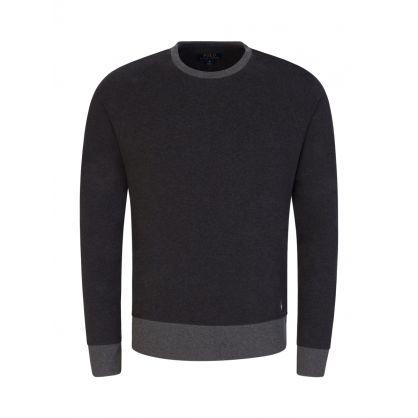 Grey Lounge Fleece Sweatshirt