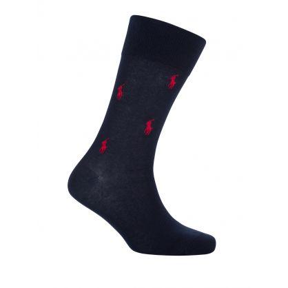 2 Pack Pony Pattern Socks