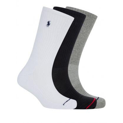 3 Pack Classic Sport Socks