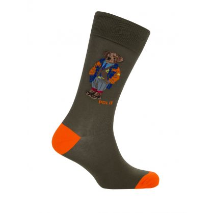 2 Pack Camo Bear Socks