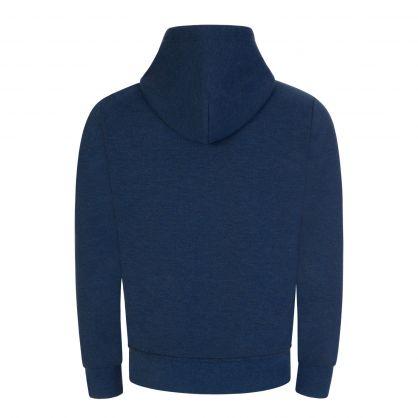 Dark Blue Zip-Through Tec Hoodie