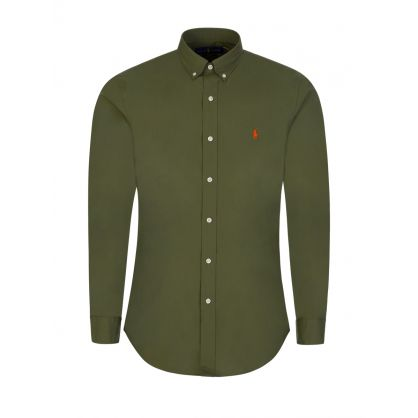Green Natural Stretch Shirt