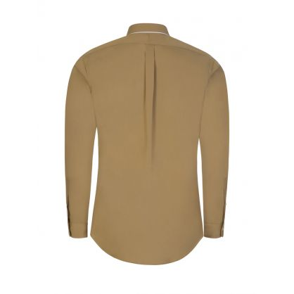 Brown Natural Stretch Shirt