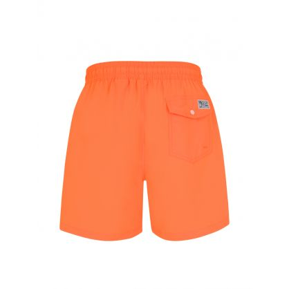 Neon Orange Traveller Swim Shorts