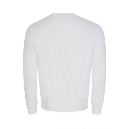White Fleece Polo Sport Bear Sweatshirt