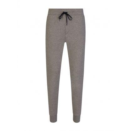 Grey Double-Knit Tech Sweatpants