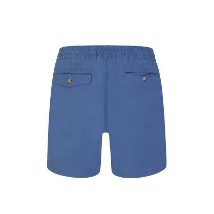 Blue Twill Prepster Shorts