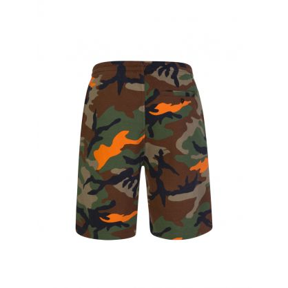 Green Camo 1992  Logo Shorts