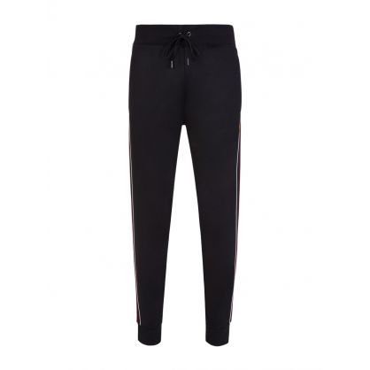 Black Slim Fit Track Pants