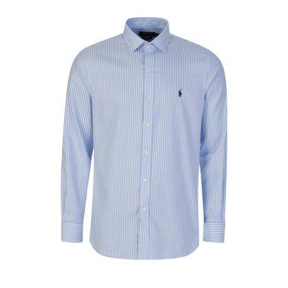 Blue Stripe Easy Care Shirt