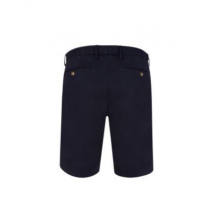 Navy Slim-Fit 24.1cm Stretch Chino Shorts