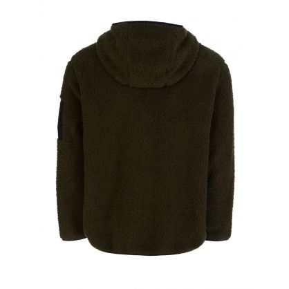 Green Fleece Zip-Through