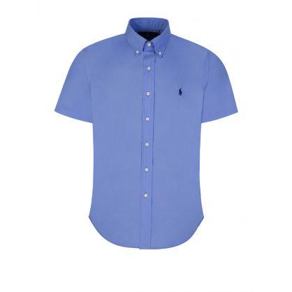 Blue Custom Fit Shirt