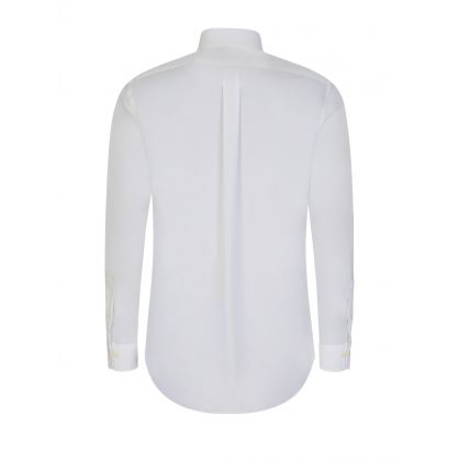 White Poplin Dress Shirt