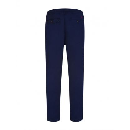 Navy Stretch Prepster Twill Trousers