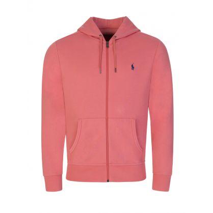 Pink Tec Zip Hoodie