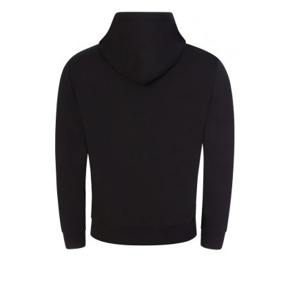 Black Double-Knit Hoodie