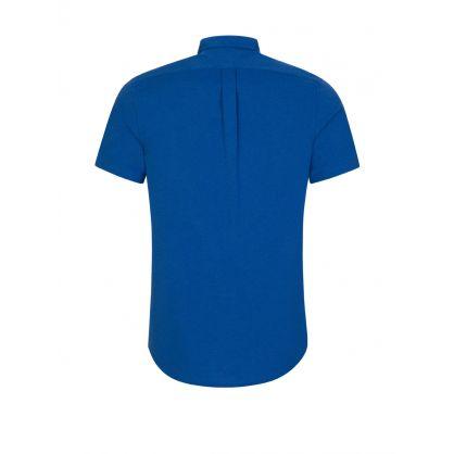 Blue Featherweight Mesh Shirt