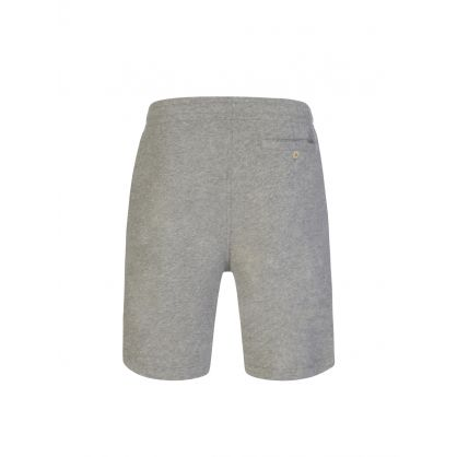 Grey Washed Terry Shorts