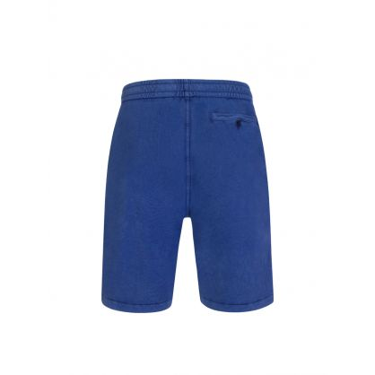 Blue Washed Terry Shorts