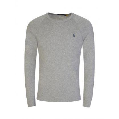 Grey Spa Terry Sweatshirt