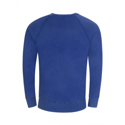 Dark Blue Spa Terry Sweatshirt