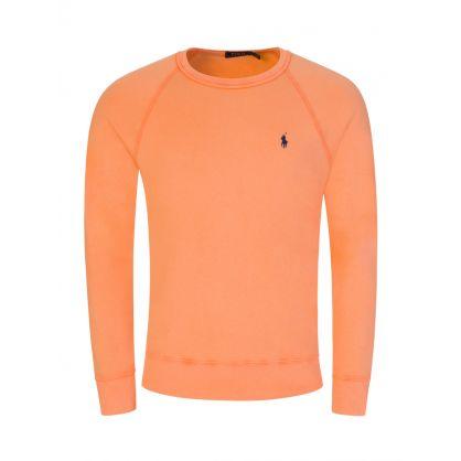 Orange Spa Terry Sweatshirt