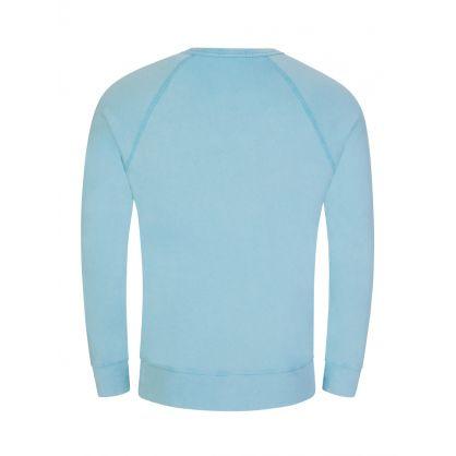 Blue Spa Terry Sweatshirt