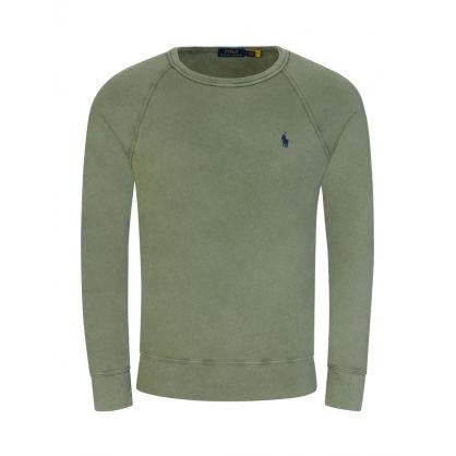 Green Spa Terry Sweatshirt