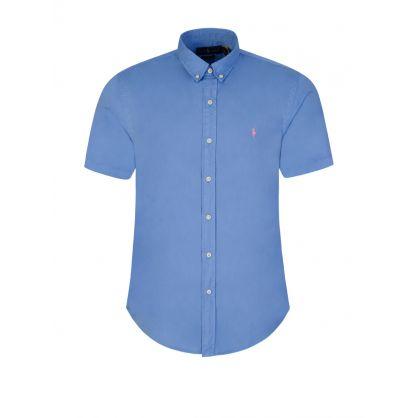 Blue Featherweight Twill Shirt