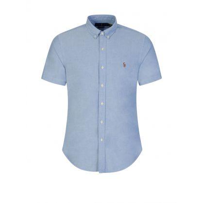 Blue Classic Oxford Slim Fit Shirt