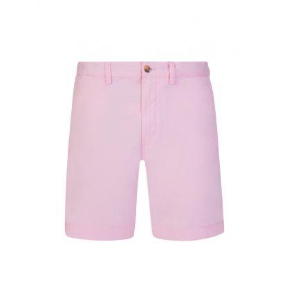 Pink 20.3 cm Stretch Chino Shorts