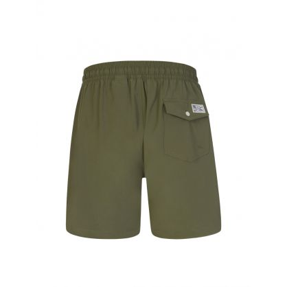 Green 14 cm Traveller Swimming Shorts