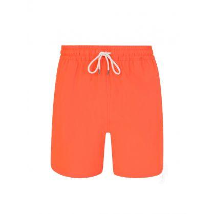 Orange 14 cm Traveller Swimming Shorts