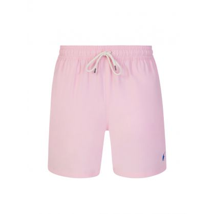 Pink Traveller Swim Trunks
