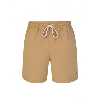 Brown Traveller Swim Shorts