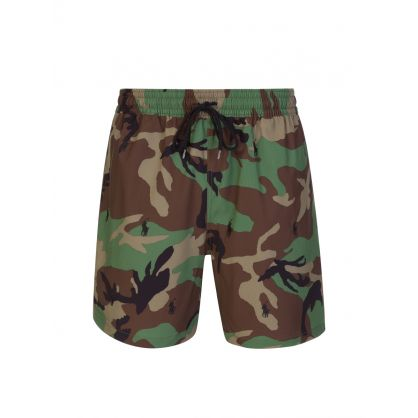Camo 5.5-Inch Traveler Swim Shorts