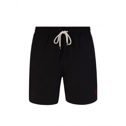 Black Traveller Mid Swim Shorts