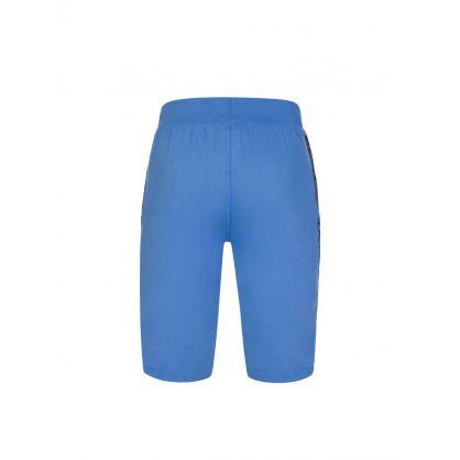 Blue Logo Lounge Shorts