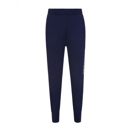 Navy Lounge Jersey Sweatpants