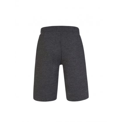 Charcoal Slim-Fit Cotton-Blend Sleep Shorts