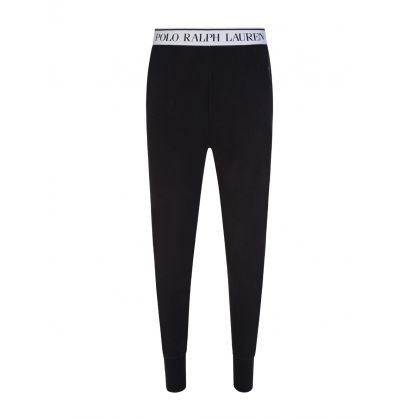 Black Logo Lounge Sweatpants