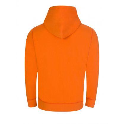 Orange The Cabin Fleece Hoodie