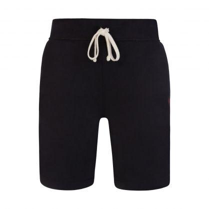 Black Fleece Pony Logo Shorts