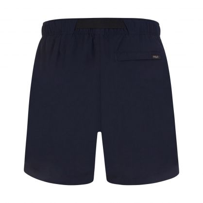 Navy Nylon Hiking Shorts