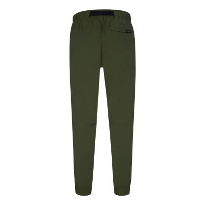 Green Tapered Fit Hiking Trousers