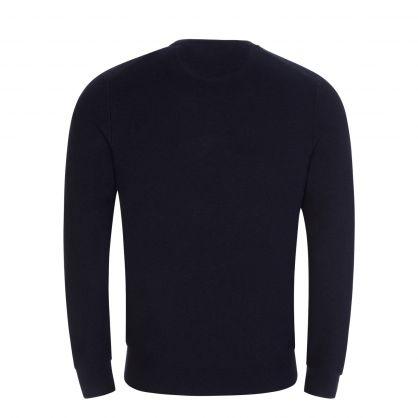 Navy Pima Cotton Pullover