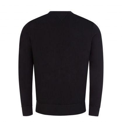 Black/Black Fleece Sweatshirt